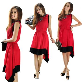 Ladies Stylish Sleeveless Knitted Dress